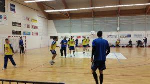L'équipe de Franc de handball à Pornic